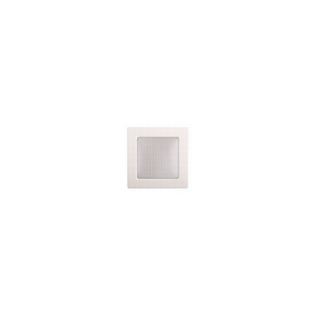 Kovová biela mriežka 11x11 bez žalúzie