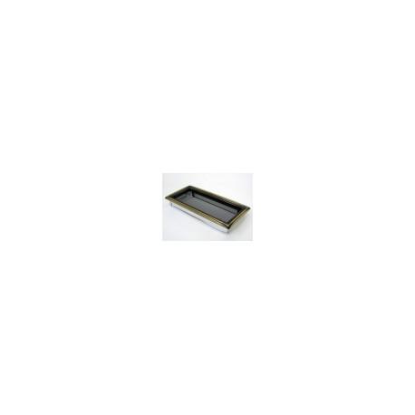 Kovová mriežka rustikálna 17x37 bez žalúzie