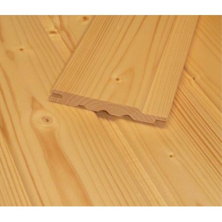Saunový obklad - severský smrek 12,5x96 mm
