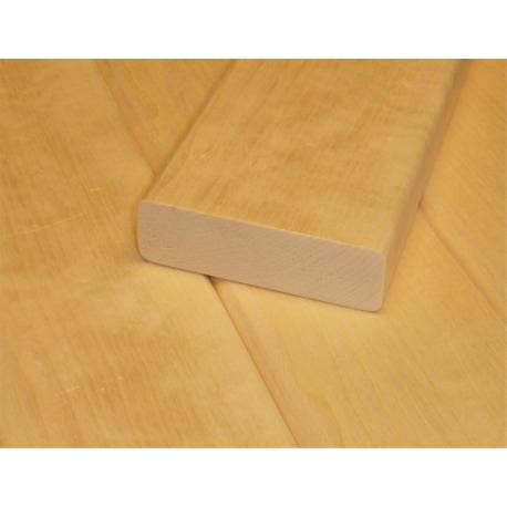 Saunové laty - Topoľ 28x90 mm