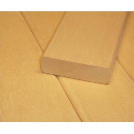 Saunové laty - Abachi 22x80 mm