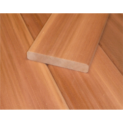 Saunové laty - Červený meranti 18x95 mm