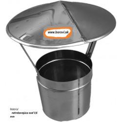 Strieška - nerez o130 mm