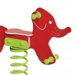 Pružinová hojdačka - slon
