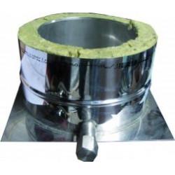Trojplášť kondenzačná miska o120