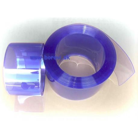 PVC zavesy - mrazuvzdorné priesvitné do(-40°C) ( 2 x 100 mm )