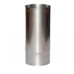 Nerezový dymovod o 100 / 500 / 0,6mm