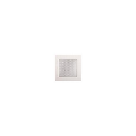 Kovová biela mriežka 17x17 bez žalúzie