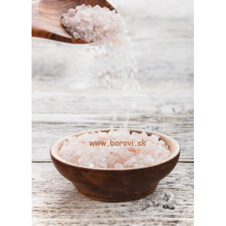Himalájska kúpeľová soľ 2-5mm - 1kg