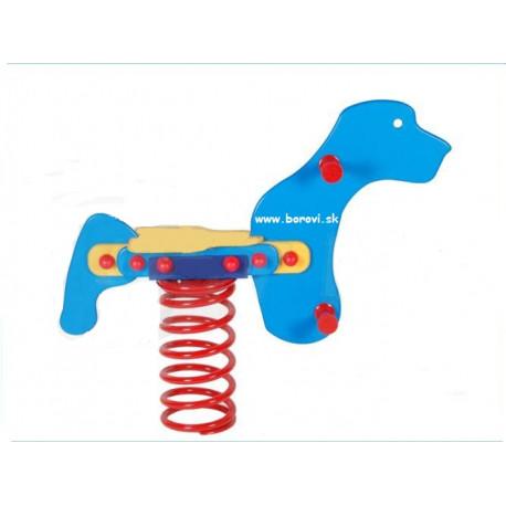 Pružinová hojdačka - psík 1