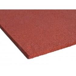 Dopadová doska - červená - 50x50x7 cm