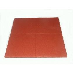 Dopadová doska - červená - 100x100x7 cm