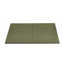 Dopadová doska - zelená - 100x100x5 cm