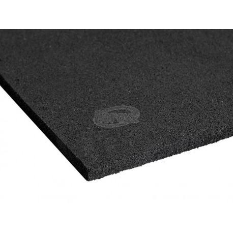 Dopadová doska - čierna 100x100x6 cm