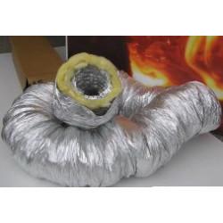 Izolovaná hadica o 100 mm dl.5 m